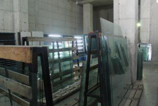 Polyvinyl butyral (P.V.B) glass